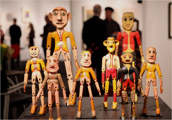 """the marionette people"", by Clifton Sulser"